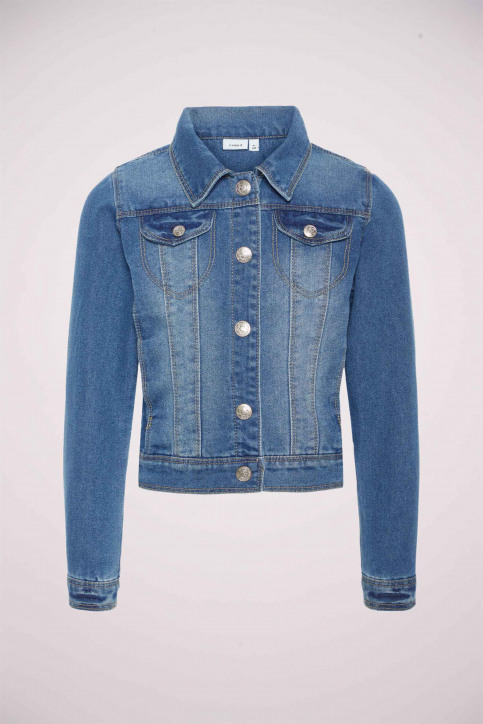 NAME IT Vestes denim bleu 13141427_180712 Medium B img5