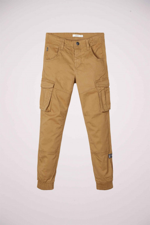 NAME IT Pantalons colorés vert 13151735_KELP img1