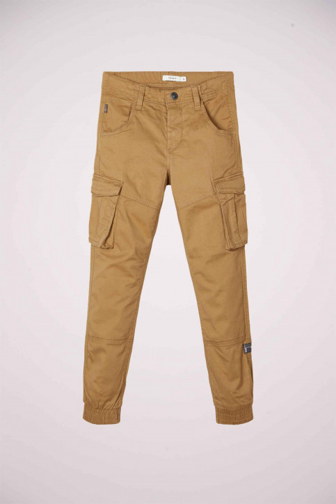 NAME IT Pantalons colorés vert 13151735_KELP img4