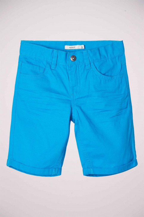 NAME IT Shorts blauw 13174854_HAWAI OCEAN img1