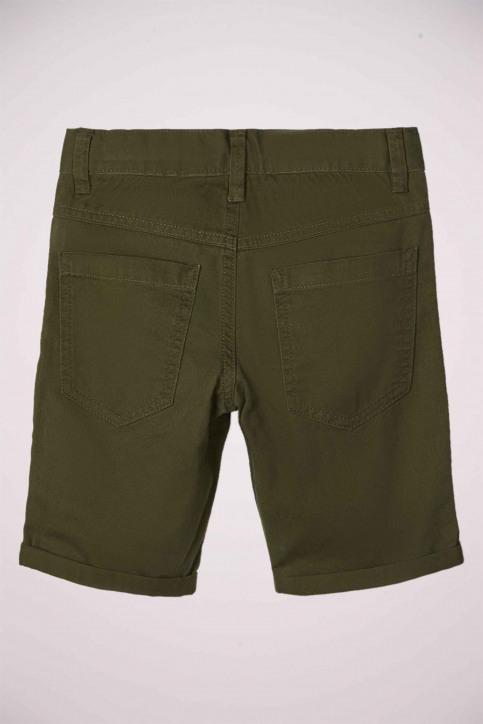 NAME IT Shorts groen 13174854_KOMBU GREEN img3