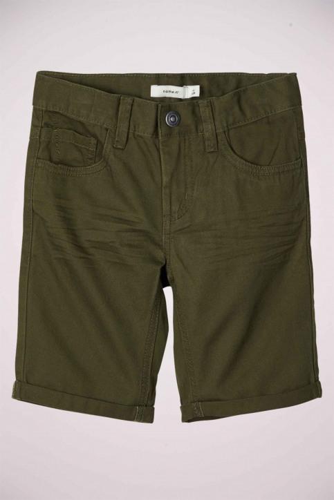 NAME IT Shorts groen 13174854_KOMBU GREEN img5