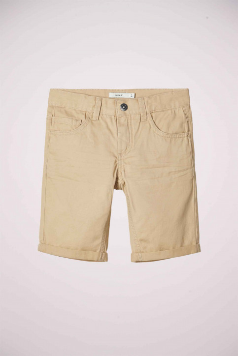 NAME IT Shorts 13174854_WHITE PEPPER img1