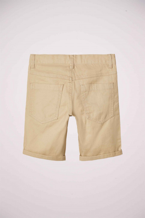 NAME IT Shorts 13174854_WHITE PEPPER img3