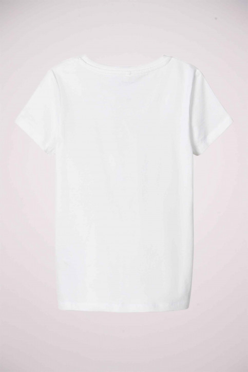 NAME IT T-shirts met korte mouwen wit 13175810_BRIGHT WHITE img2