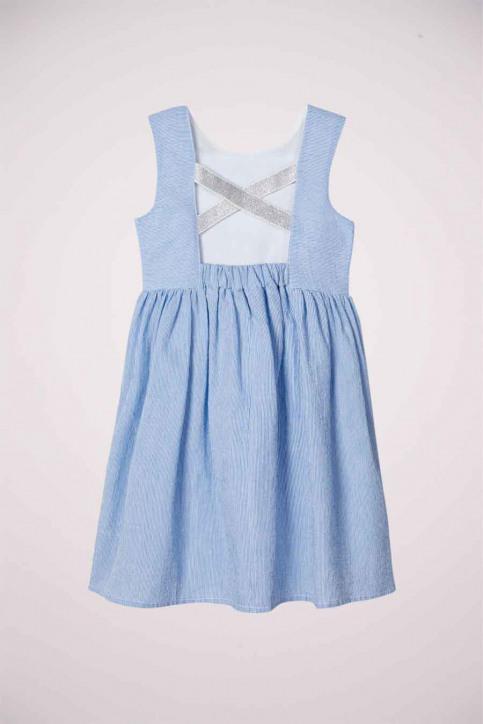 NAME IT Korte kleedjes blauw 13177376_DUTCH BLUE img2