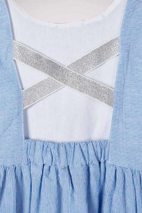 NAME IT Korte kleedjes blauw 13177376_DUTCH BLUE img3