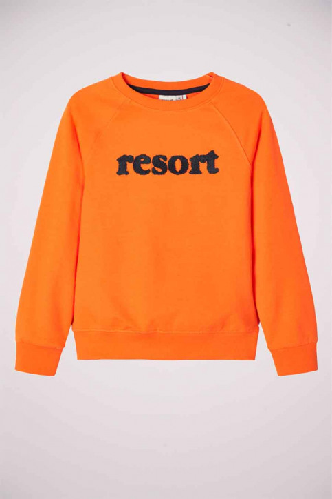NAME IT Sweaters col O multicoloré 13177980_VIBRANT ORANGE img1