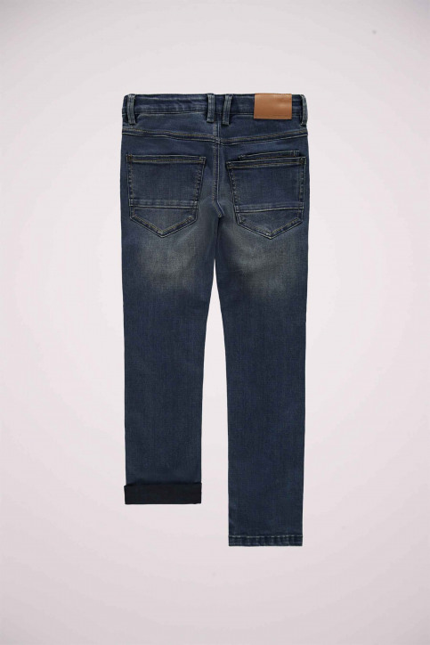 NAME IT Jeans slim bleu 13178901_DARK BLUE DENIM img2