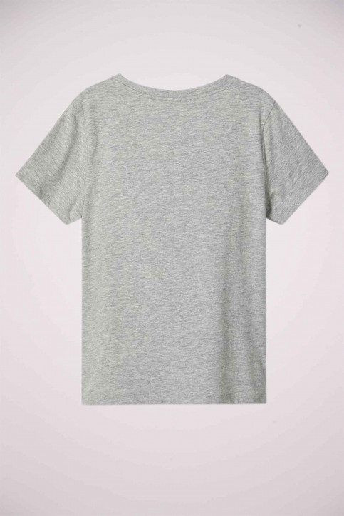 NAME IT T-shirts manches courtes gris 13179726_GREY MELANGE img2