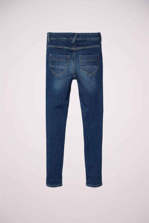 NAME IT Girls jeans jeans skinny blauw 13181025_DARK BLUE DENIM img4