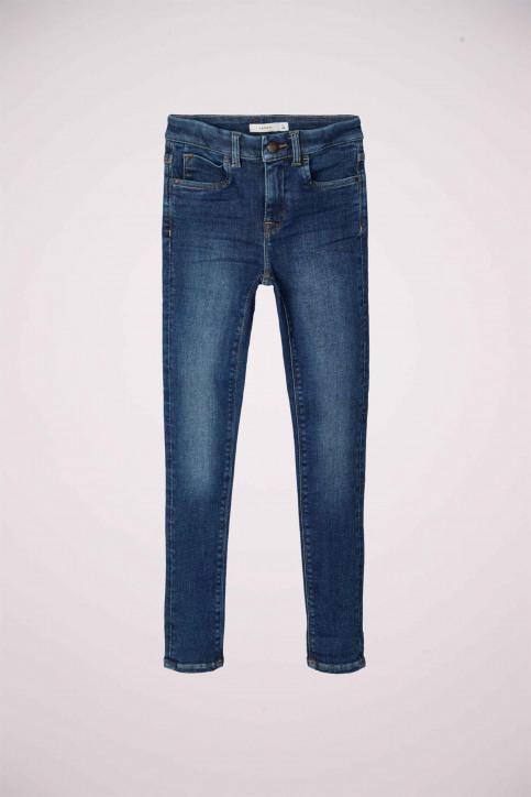 NAME IT Girls jeans jeans skinny blauw 13181025_DARK BLUE DENIM img6