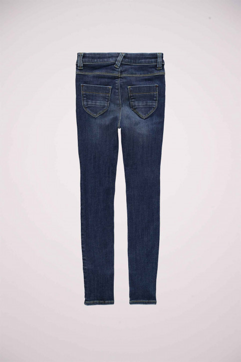 NAME IT Girls jeans jeans skinny blauw 13181025_DARK BLUE DENIM img7