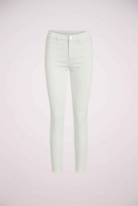 VILA Jeans skinny wit 14032799_OPTICAL SNOW img8