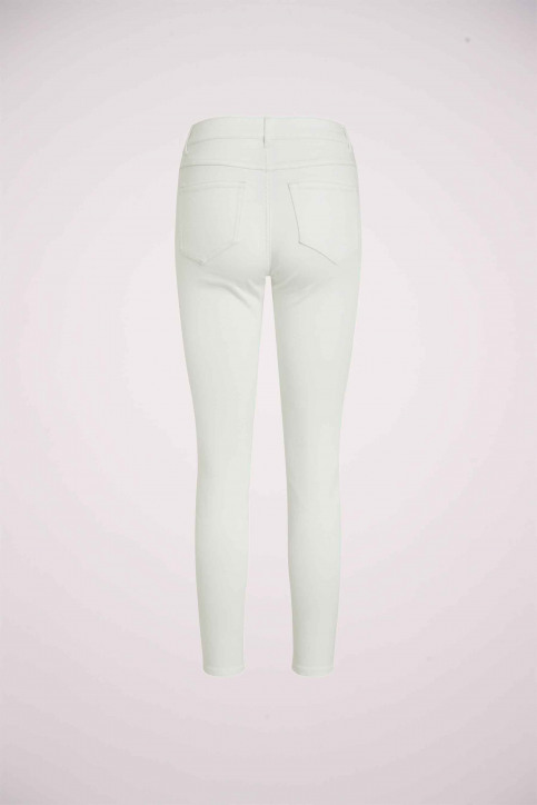 VILA Jeans skinny blanc 14032799_OPTICAL SNOW img9