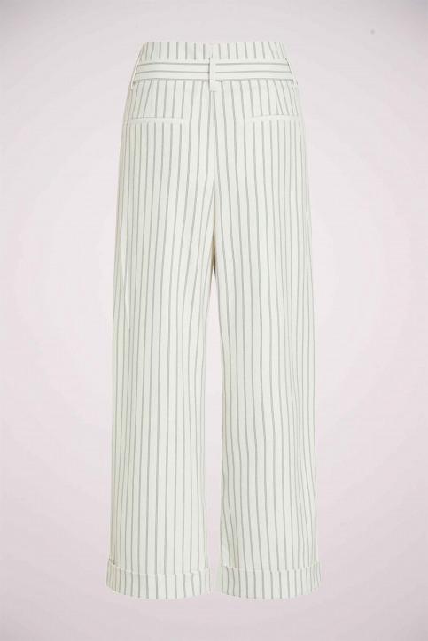 VILA Pantalons colorés blanc 14050442_CLOUD DANCER img7