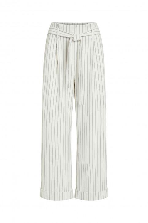 VILA Pantalons colorés blanc 14050442_CLOUD DANCER img8