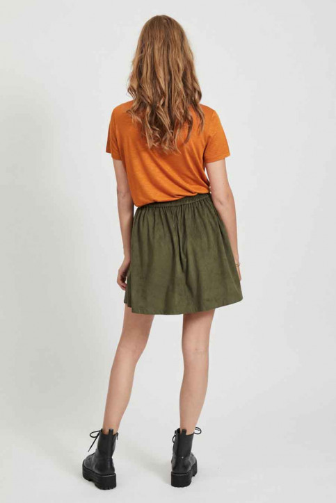 VILA® Tops (korte mouwen) oranje 14050576_PUMPKIN SPICE img3