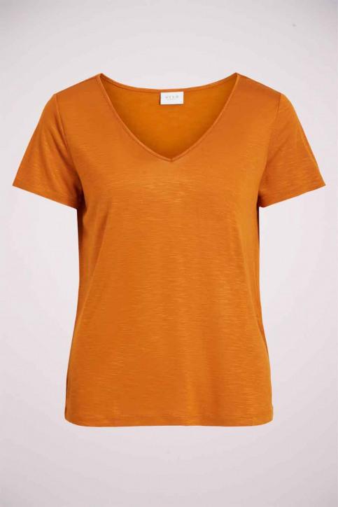VILA® Tops (korte mouwen) oranje 14050576_PUMPKIN SPICE img4