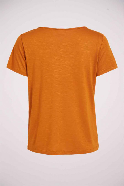 VILA® Tops (korte mouwen) oranje 14050576_PUMPKIN SPICE img5