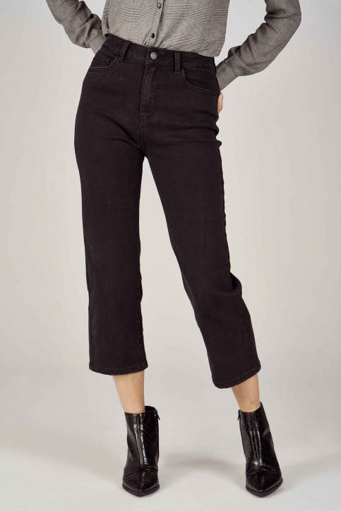 VILA® Jeans wide zwart 14053524_BLACK img2