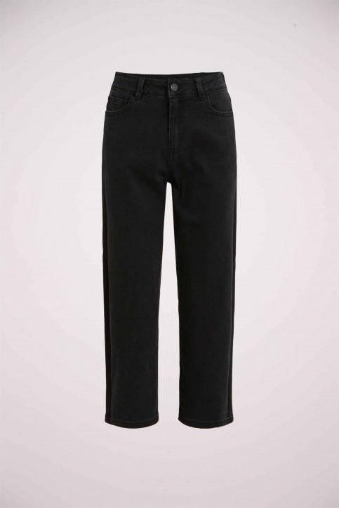 VILA® Jeans wide zwart 14053524_BLACK img3