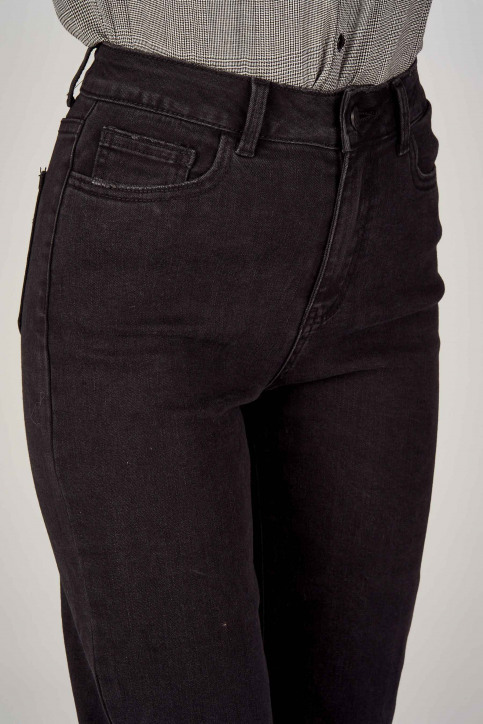 VILA® Jeans wide zwart 14053524_BLACK img5