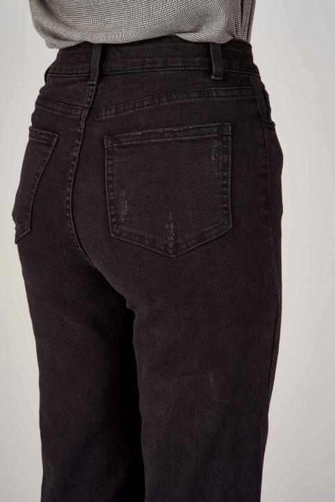 VILA® Jeans wide zwart 14053524_BLACK img6
