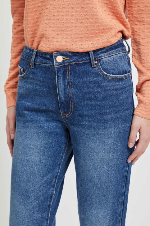 VILA Jeans 7/8 blauw 14054347_MEDIUM BL DENIM img4