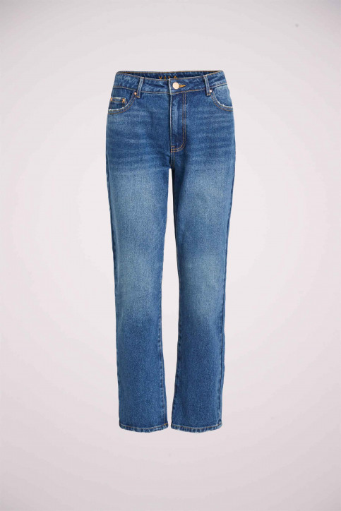 VILA Jeans 7/8 blauw 14054347_MEDIUM BL DENIM img6