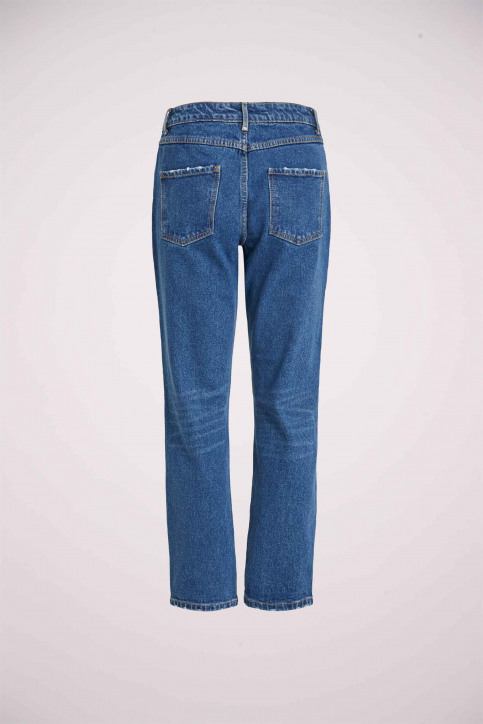 VILA Jeans 7/8 blauw 14054347_MEDIUM BL DENIM img7