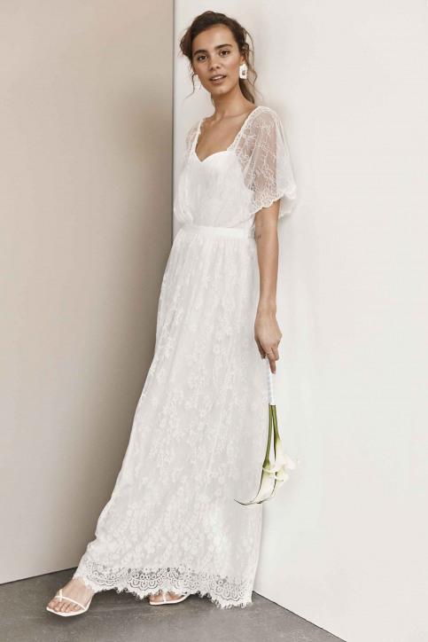 VILA Robes longues blanc 14055686_CLOUD DANCER img1