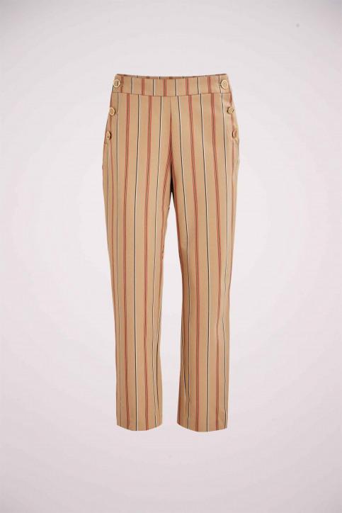 VILA Pantalons beige 14056346_NOMAD WITH STRI img1