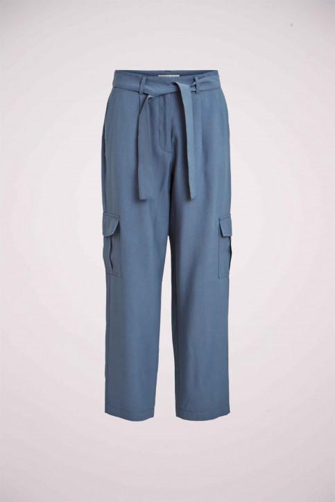 VILA® Pantalons cargo bleu 14057678_CHINA BLUE img1