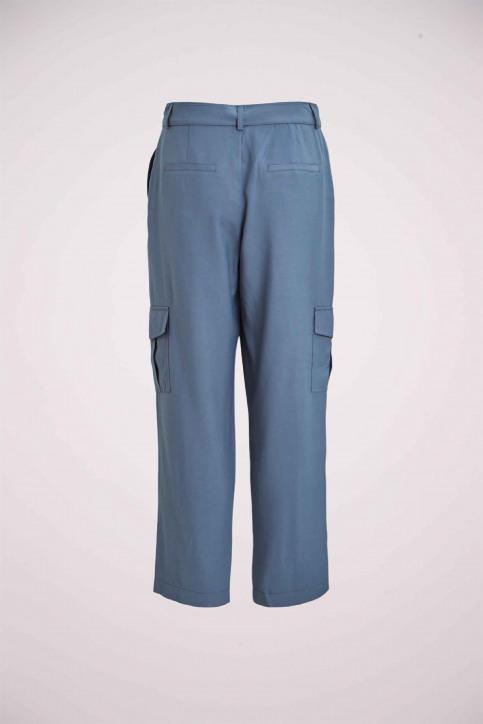 VILA® Pantalons cargo bleu 14057678_CHINA BLUE img2