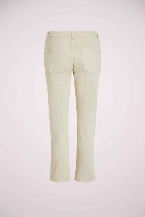 VILA® Jeans straight wit 14057734_BIRCH img2