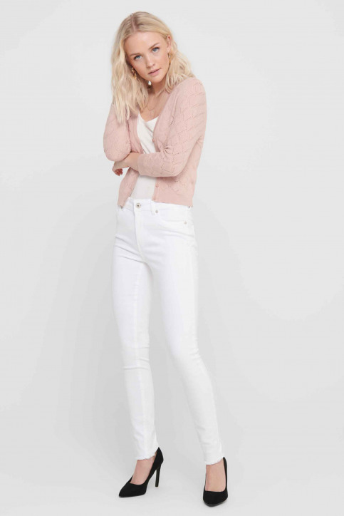 ONLY® Jeans skinny wit 15155438_WHITE img2