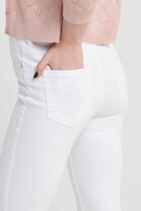 ONLY® Jeans skinny wit 15155438_WHITE img8