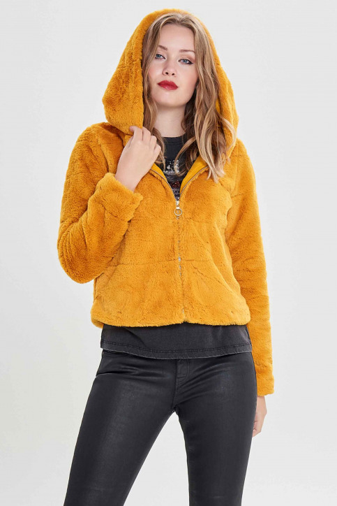 ONLY® Vestes courtes jaune 15156560_GOLDEN YELLOW img1