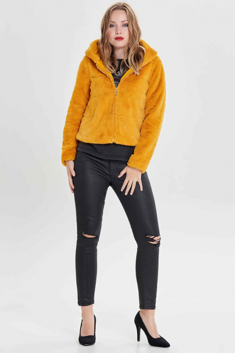 ONLY® Vestes courtes jaune 15156560_GOLDEN YELLOW img2