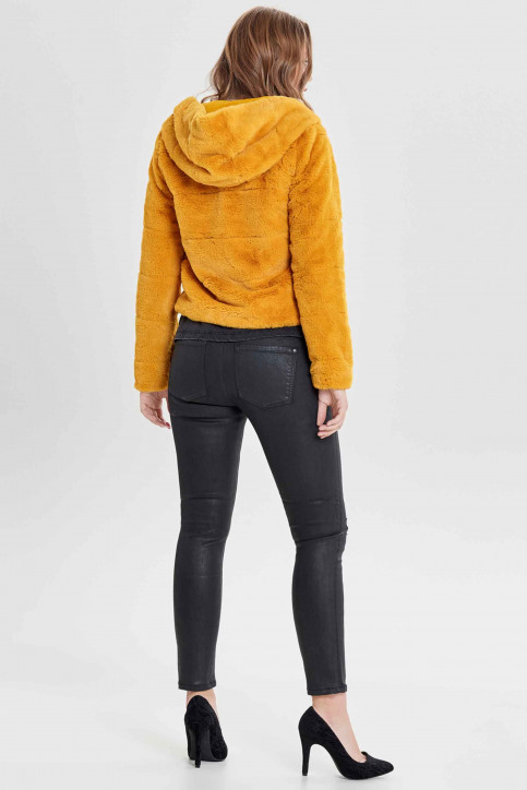 ONLY® Vestes courtes jaune 15156560_GOLDEN YELLOW img3