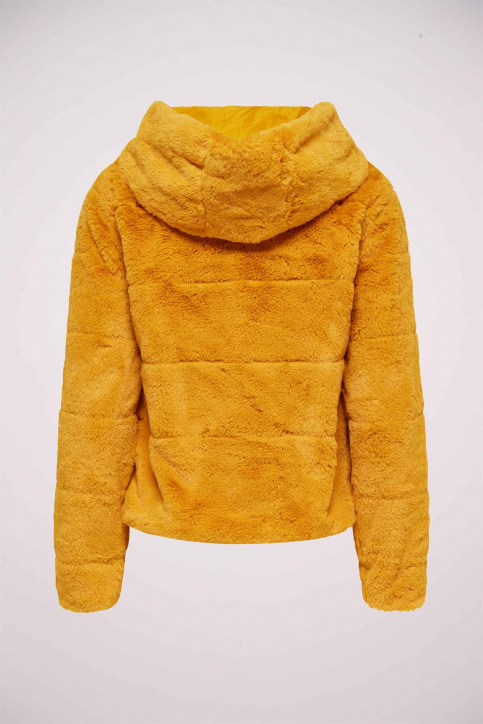ONLY® Vestes courtes jaune 15156560_GOLDEN YELLOW img8