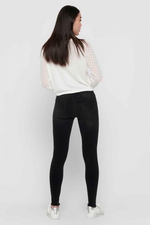 ONLY® Jeans skinny zwart 15157997_BLACK DENIM img3