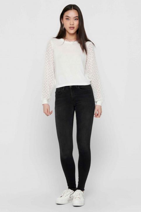 ONLY Jeans skinny noir 15157997_BLACK DENIM img6