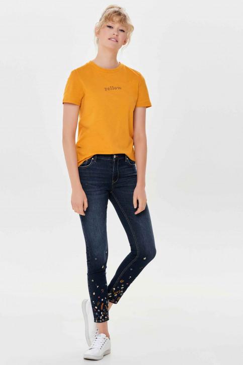 ONLY Jeans skinny denim 15158840_DARK BLUE DENIM img5