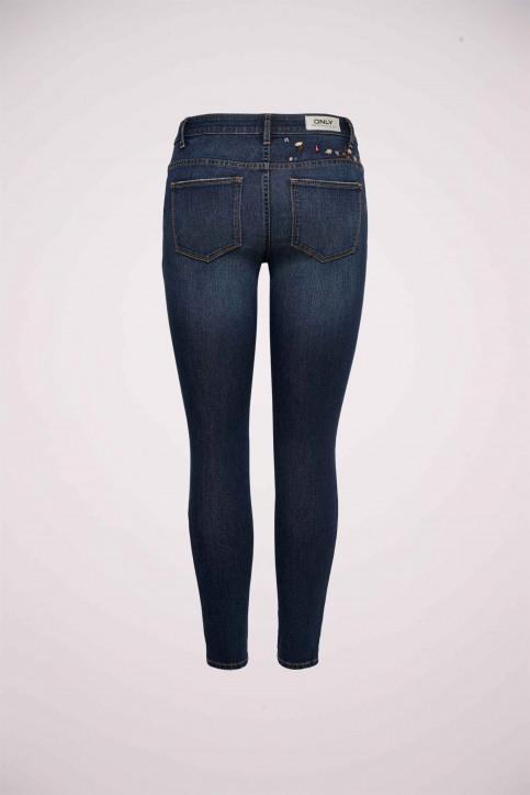 ONLY Jeans skinny denim 15158840_DARK BLUE DENIM img7