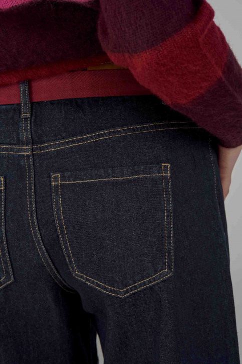 ONLY Jeans wide denim 15159054_DARK BLUE DENIM img5