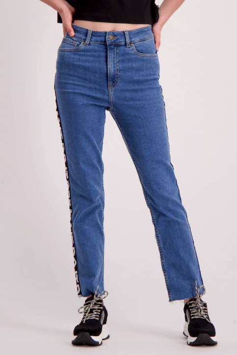 ONLY Jeans straight denim 15159842_MEDIUM BLUE DEN img4