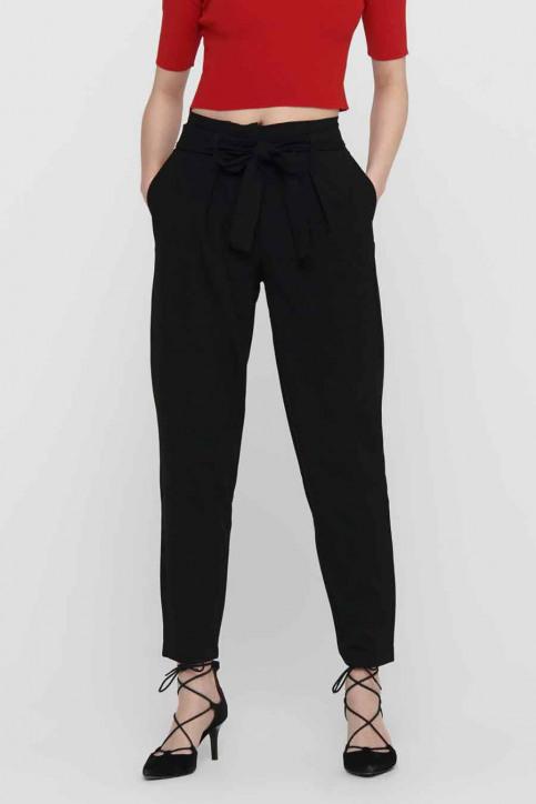 ONLY Pantalons noir 15160446_BLACK img1