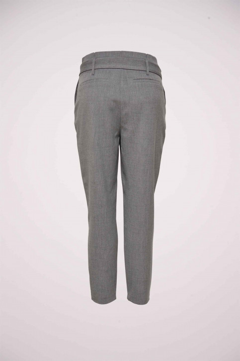 ONLY Pantalons gris 15160446_LIGHT GREY MELA img2